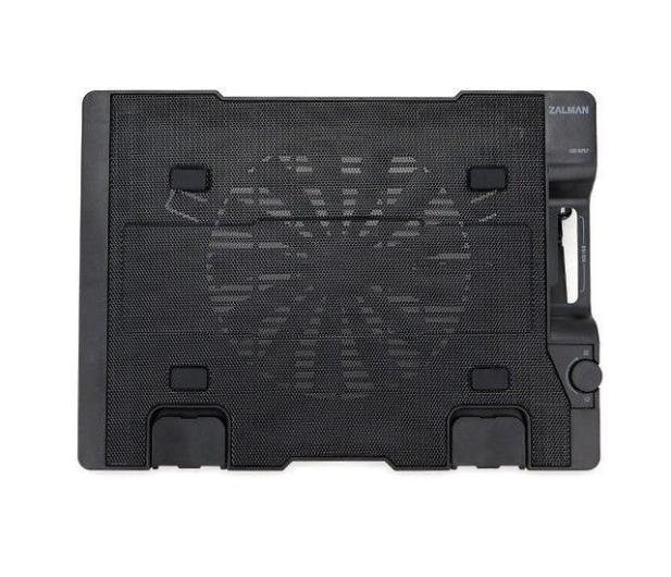 """Zalman Chłodząca ZM-NS2000 czarna (3x hub USB, do 17,3"""") - 165228 - zdjęcie 2"""