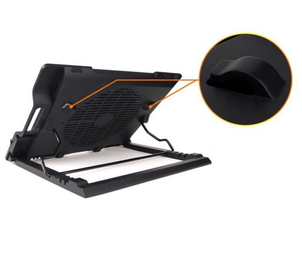 """Zalman Chłodząca ZM-NS2000 czarna (3x hub USB, do 17,3"""") - 165228 - zdjęcie 8"""
