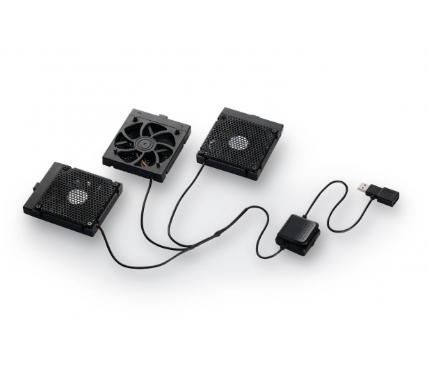 """Cooler Master Chłodząca NotePal U3 Plus (13 do 17"""", czarna) - 165359 - zdjęcie 2"""