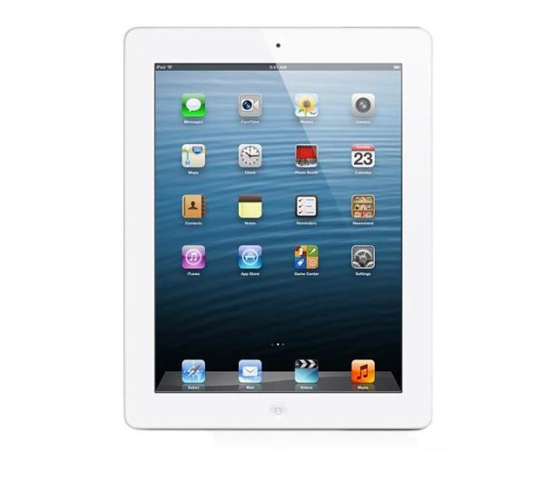 Apple iPad z wyświetlaczem Retina 32GB + modem biały - 119365 - zdjęcie