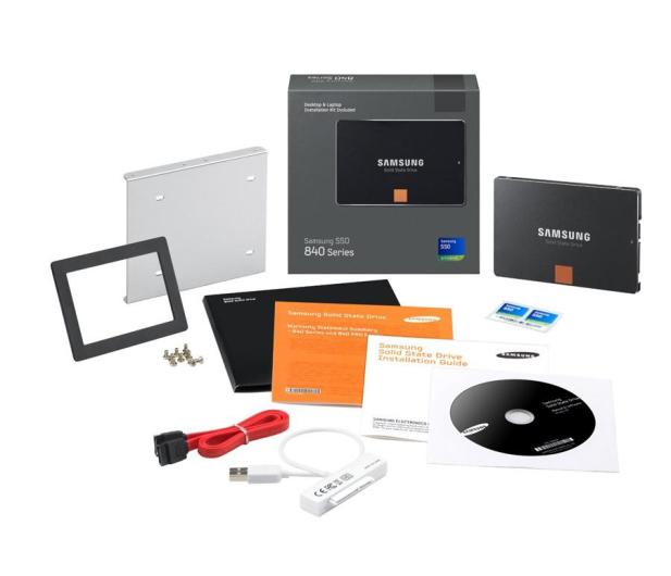 Samsung 120GB 2,5'' SATA SSD Seria 840 KIT - 117729 - zdjęcie