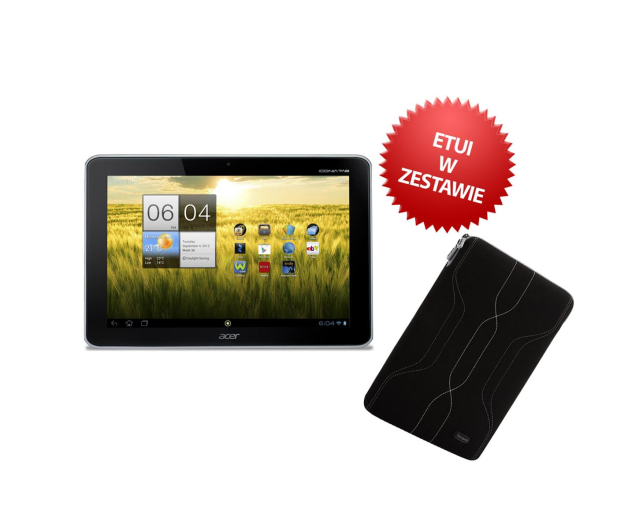Acer ICONIA TAB A211 T3/1GB/16/3G/Android 4.0+ETUI - 116186 - zdjęcie