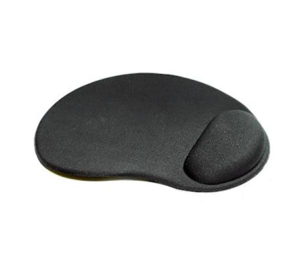 Gembird Ergonomiczna Gel (żelowa) 3mm czarna - 103043 - zdjęcie