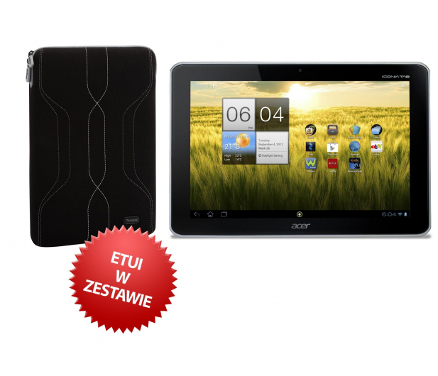 Acer ICONIA TAB A210 T3/1GB/16/Android 4.0 WiFi+ETUI - 116185 - zdjęcie