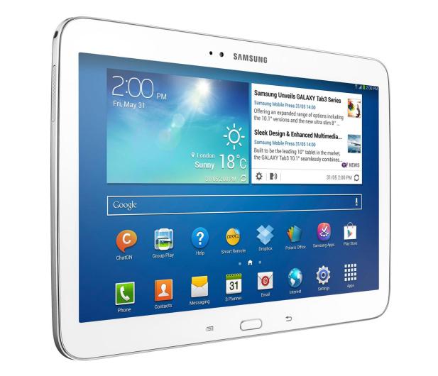 Samsung Galaxy Tab 3 P5200 DC/1024/16/Android 4.2 3G biały - 152879 - zdjęcie 2