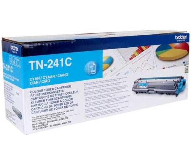 Brother TN241C cyan 1400str. - 151204 - zdjęcie