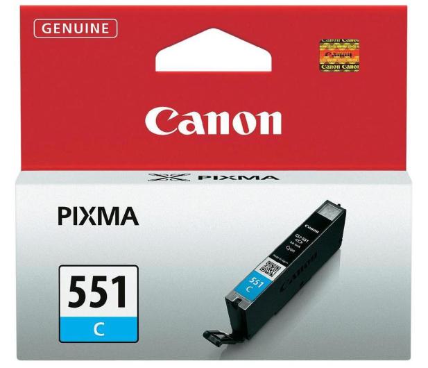 Canon CLI-551C cyan 332str. (6509B001) - 121842 - zdjęcie 2