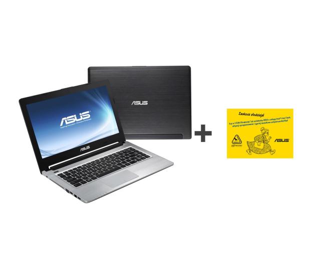 ASUS S46CM-WX123H-8 i3-3217U/8GB/500+24/DVD-RW/Win8 - 123910 - zdjęcie