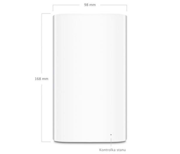 Apple AirPort Time Capsule 2TB (1300Mb/s a/b/g/n/ac) - 151296 - zdjęcie 3