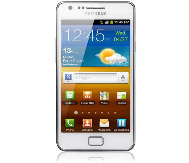 Samsung Galaxy S2 Plus I9105 biały - 152584 - zdjęcie