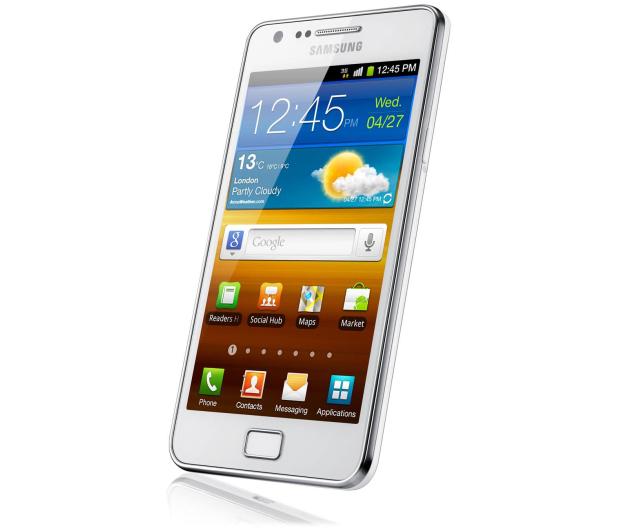 Samsung Galaxy S2 Plus I9105 biały - 152584 - zdjęcie 2