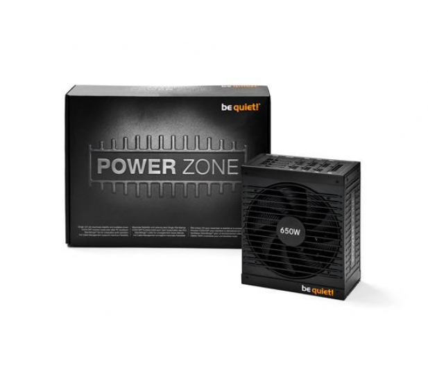 be quiet! Power Zone 650W 80 Plus Bronze - 156253 - zdjęcie