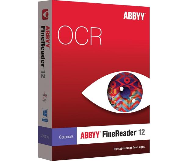 ABBYY FineReader 12 Corporate Edition OCR BOX  - 102564 - zdjęcie