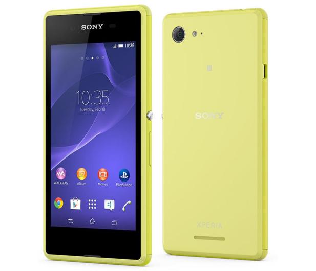 Sony Xperia E3 Lte Limonkowy Smartfony I Telefony Sklep Komputerowy X Kom Pl