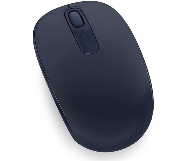 Microsoft 1850 Wireless Mobile Mouse (granatowa) - 185696 - zdjęcie 3