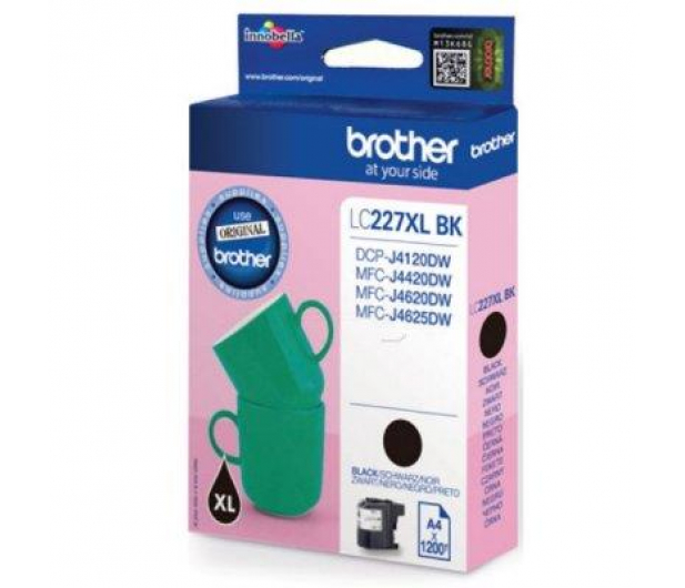 Brother LC227XLBK black 1200 str. - 213024 - zdjęcie