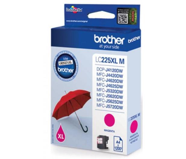 Brother LC225XLM magenta 1200 str.  - 213027 - zdjęcie