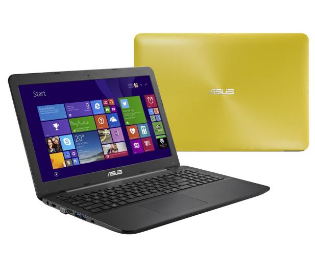 08c21ed1e33da ASUS K555LD-XO488H-8 i3-4030U 8GB 1TB Win8 GF820 Żółty - Notebooki   Laptopy  15