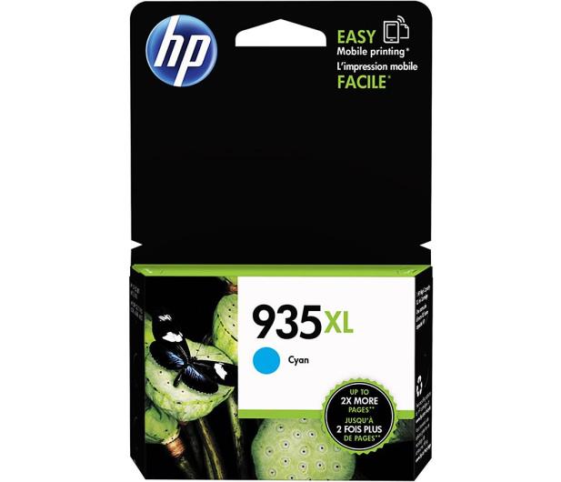 HP 935XL C2P24A cyan 825 str.  - 215171 - zdjęcie