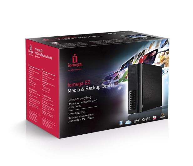 Lenovo Iomega EZ 1TB NAS Media & Backup Center  - 161404 - zdjęcie 5