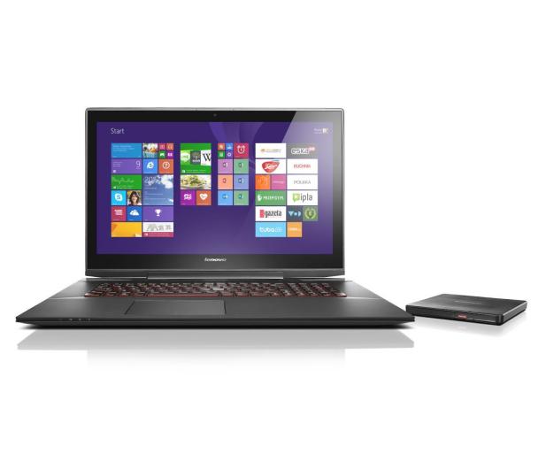 Lenovo Y70-70 i7-4710HQ/8GB/1000/Win8.1 GTX860M FHD - 238308 - zdjęcie