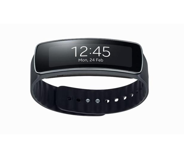 Samsung Gear Fit czarny - 220696 - zdjęcie