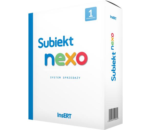 InsERT Subiekt Nexo 1st. (Sprzedaż) - 202883 - zdjęcie