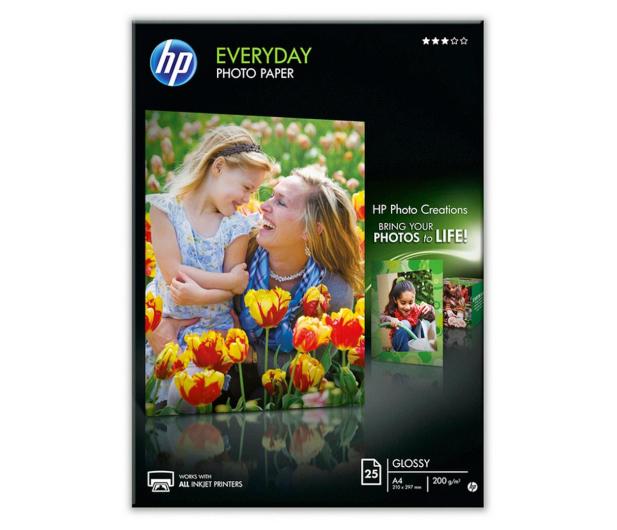 HP Papier fotograficzny (A4, 200g, błysk) 25szt. - 31746 - zdjęcie