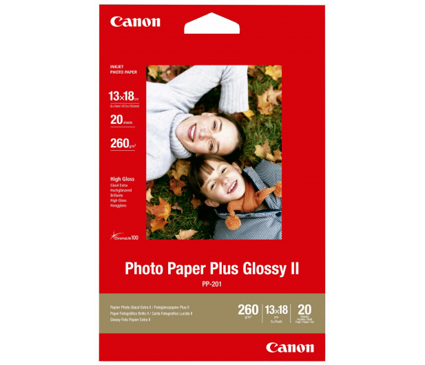 Canon Papier fotograficzny PP-201 (13x18, 260g) 20szt. - 56037 - zdjęcie