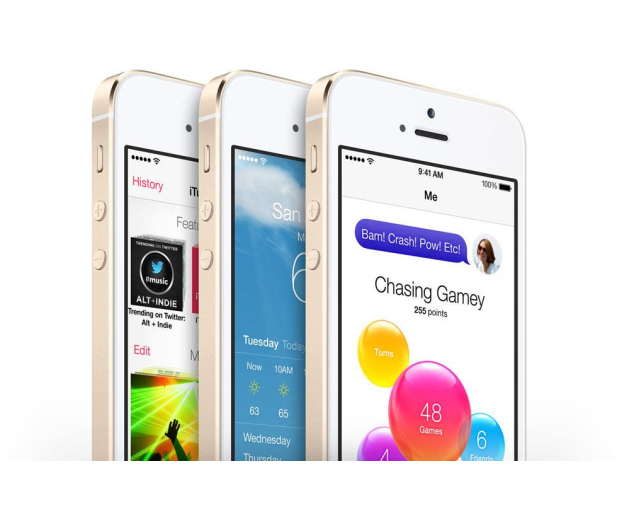 Apple iPhone 5S 16GB Gold - 168099 - zdjęcie 5