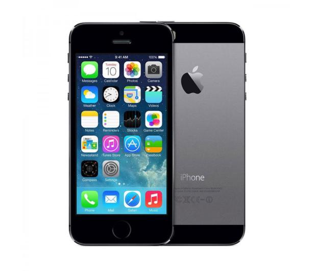 Apple iPhone 5S 16GB Space Gray - 165237 - zdjęcie 5