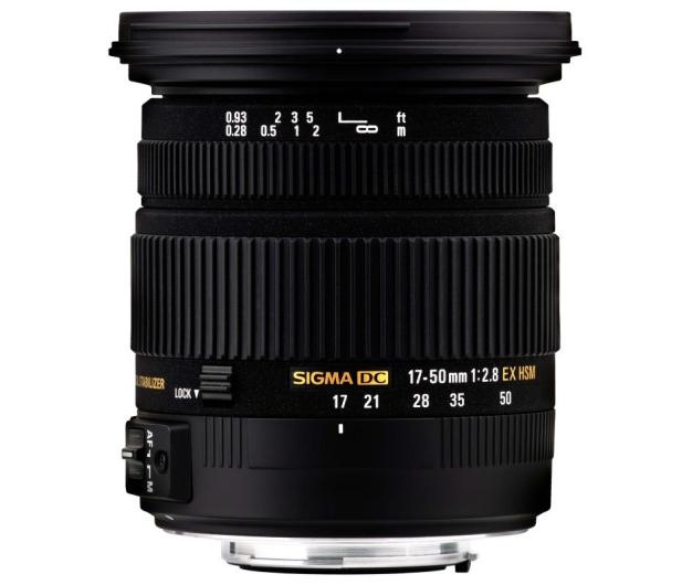 Sigma 17-50mm F2.8 EX DC OS HSM Nikon - 166423 - zdjęcie