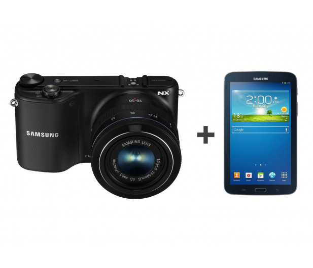 Samsung NX2000 + 20-50mm + Galaxy Tab 3 T210 + 32GB - 174249 - zdjęcie