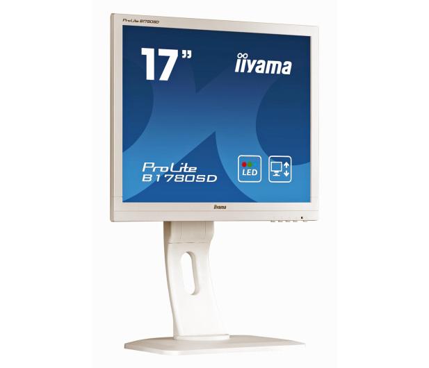 iiyama B1780SD biały  - 172819 - zdjęcie 2