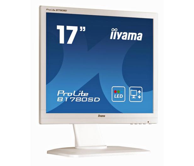 iiyama B1780SD biały  - 172819 - zdjęcie 4