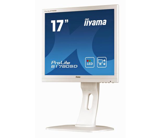 iiyama B1780SD biały  - 172819 - zdjęcie 3