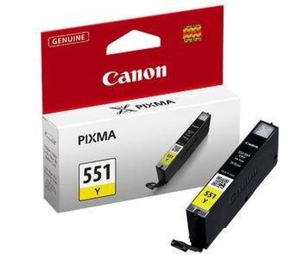 Canon CLI-551Y yellow 332str. ( 6511B001 ) - 121844 - zdjęcie