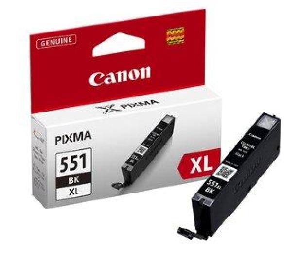Canon CLI-551BK XL black 1130str.  - 121845 - zdjęcie