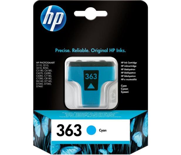 HP 363 C8771EE cyan 6ml - 14039 - zdjęcie