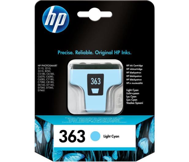 HP 363 C8774EE light cyan 6ml - 14717 - zdjęcie