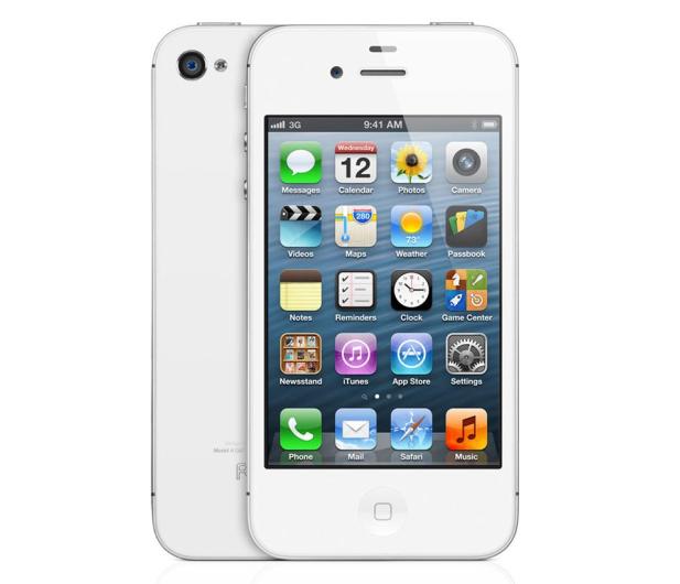 Apple iPhone 4S 8GB Biały - 172986 - zdjęcie