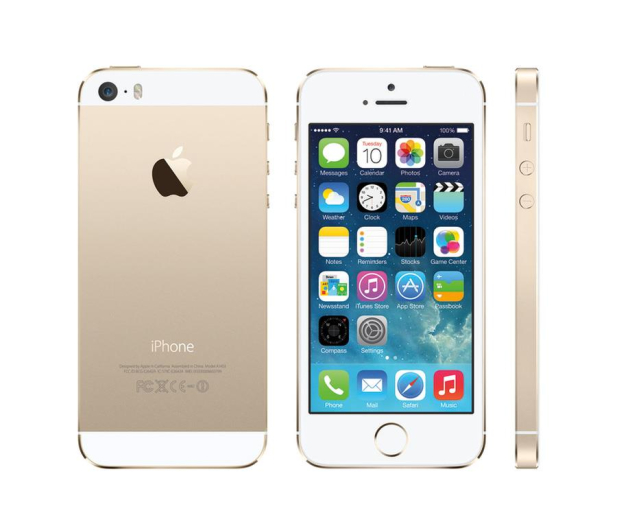 Apple iPhone 5S 16GB Gold - 168099 - zdjęcie