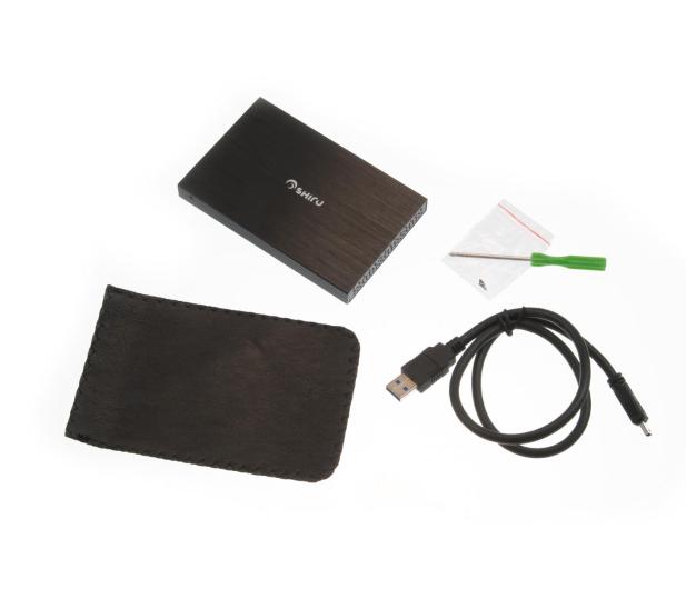 SHIRU Obudowa do dysku SDE-H1 USB 3.0 - 177594 - zdjęcie 6