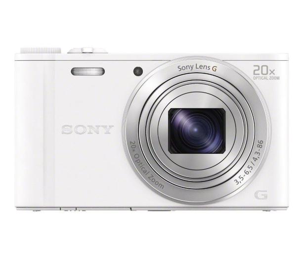 Sony DSC-WX350 biały - 177414 - zdjęcie