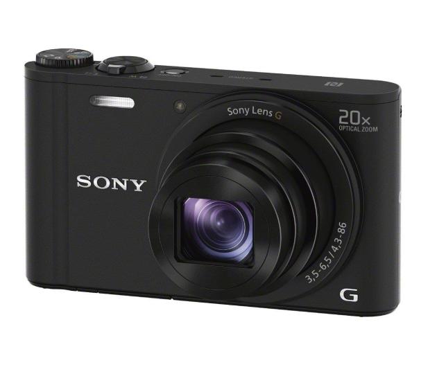 Sony DSC-WX350 czarny - 177411 - zdjęcie