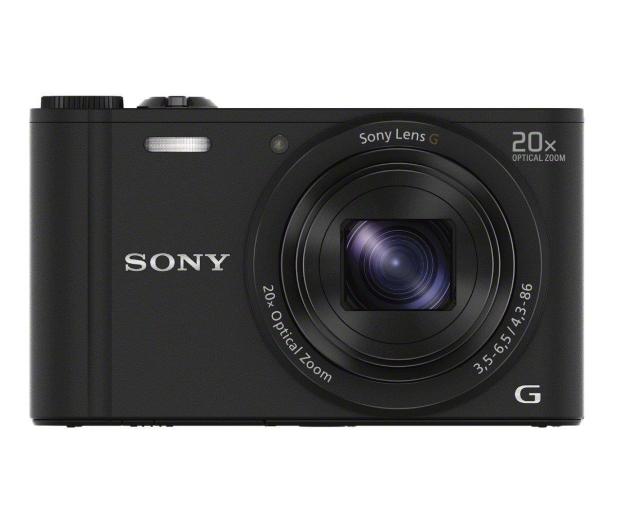 Sony DSC-WX350 czarny - 177411 - zdjęcie 2