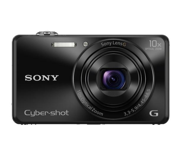 Sony DSC WX220 czarny - 177409 - zdjęcie