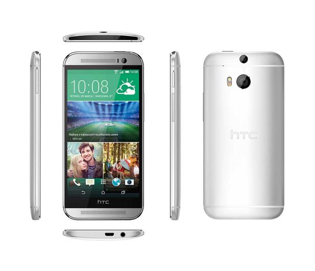 HTC One (M8) srebrny - 179340 - zdjęcie 3