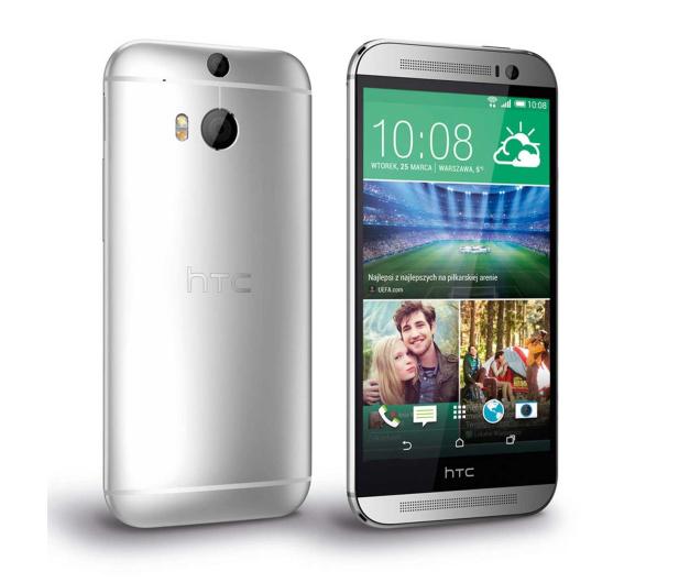 HTC One (M8) srebrny - 179340 - zdjęcie