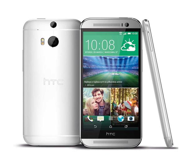HTC One (M8) srebrny - 179340 - zdjęcie 2
